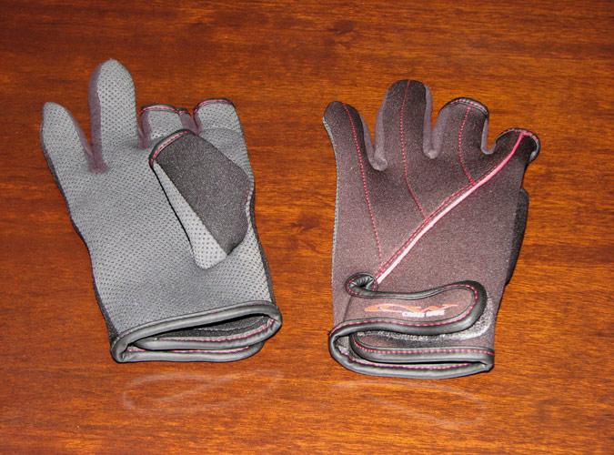 冬に洗濯物を干す時の手袋