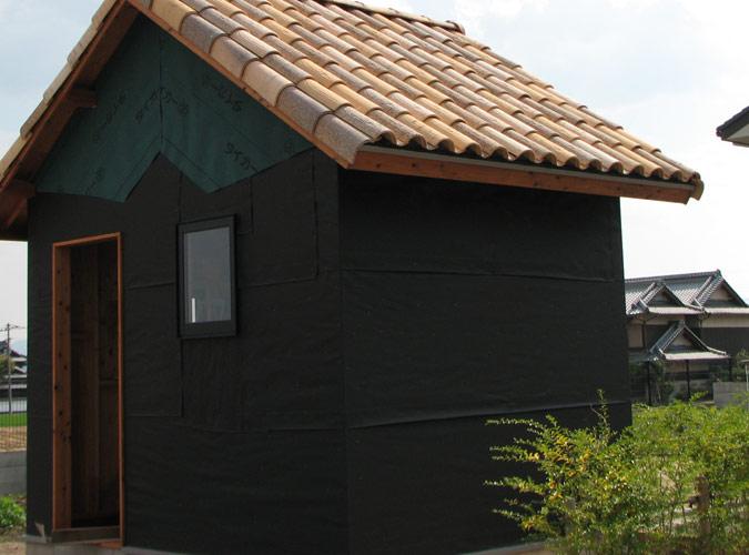 「DIYで木造物置製作11」外壁下地編