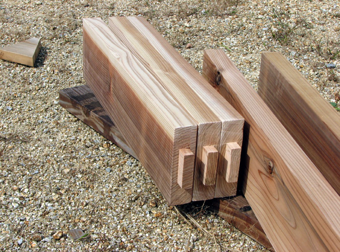 「DIYで木造物置製作12」扉を作ろう編