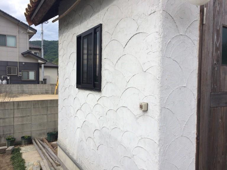 「DIYで木造物置製作13」外壁左官編